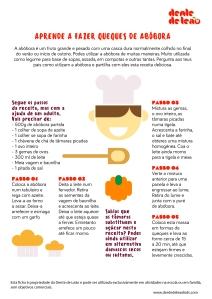 Experiencia na cozinha - queques de abóbora